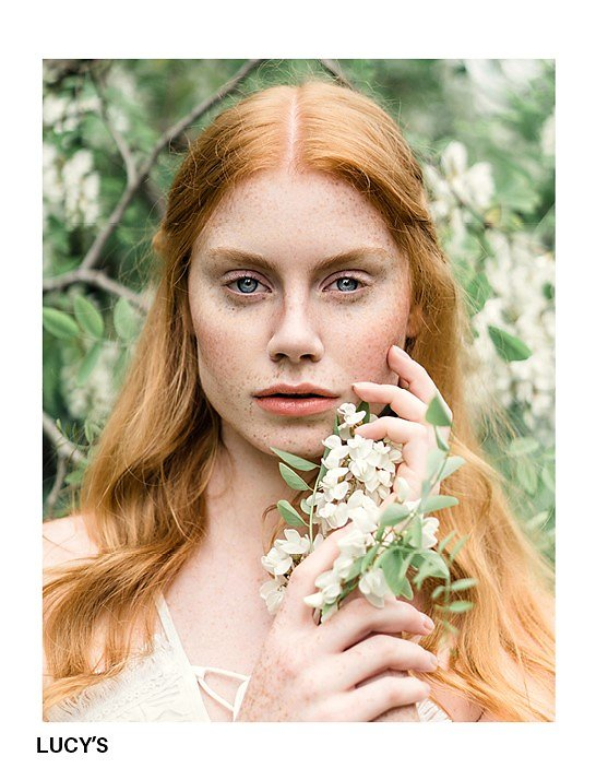 My work for Lucy's Magazine 'Garden of Eve'